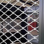 GRILLE A TUBES ONDULES